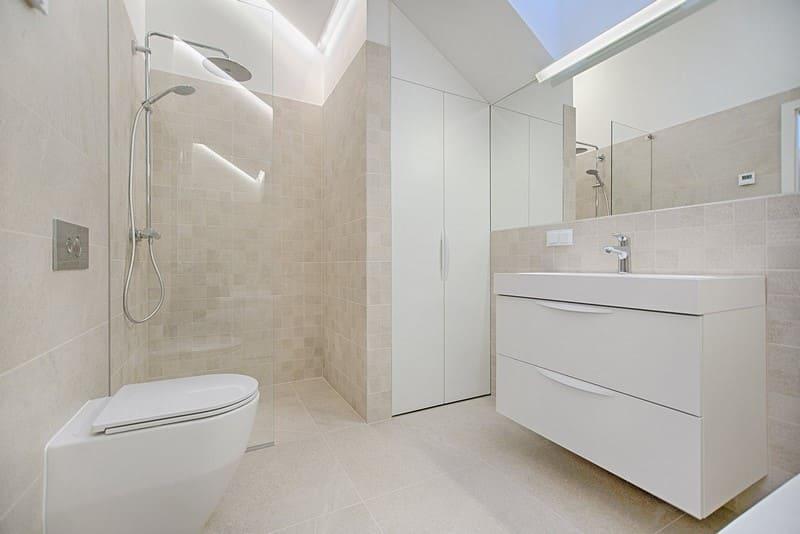eau de pluie toilettes