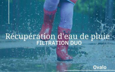 Filtration d'eau de pluie DUO