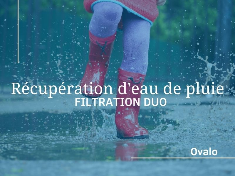 filtration eau de pluie duo