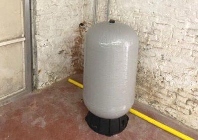 Filtration d'eau de pluie