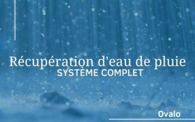 Installation d'un système de récupération d'eau de pluie complet