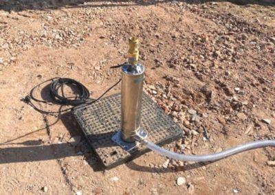 Pompe d'eau de pluie